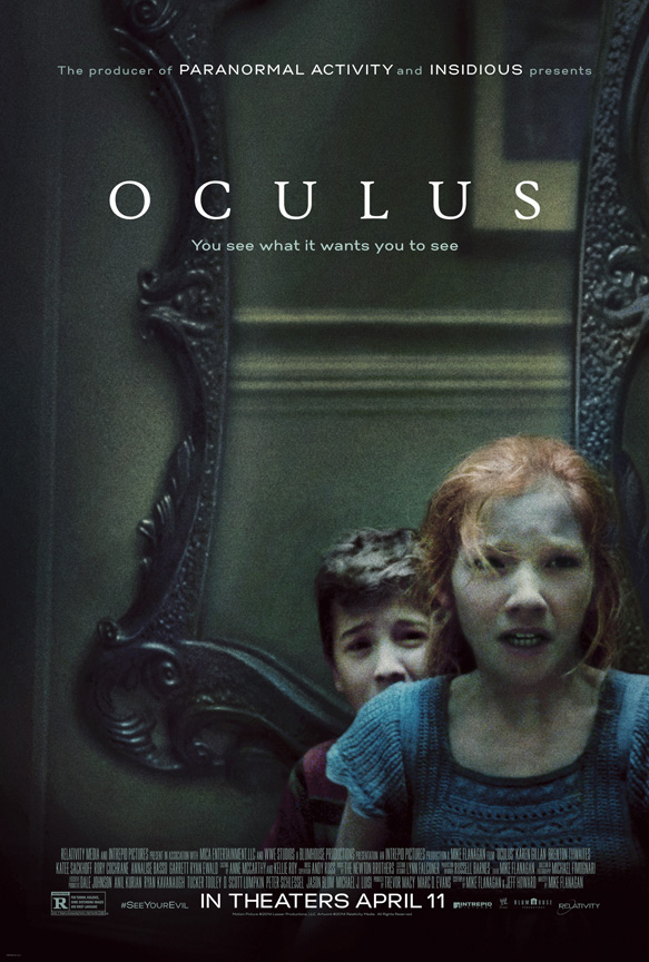Oculus Kids1Sht 27x40 Hi Res2 - CrypticRock Presents: Top 10 Horror Films of 2014