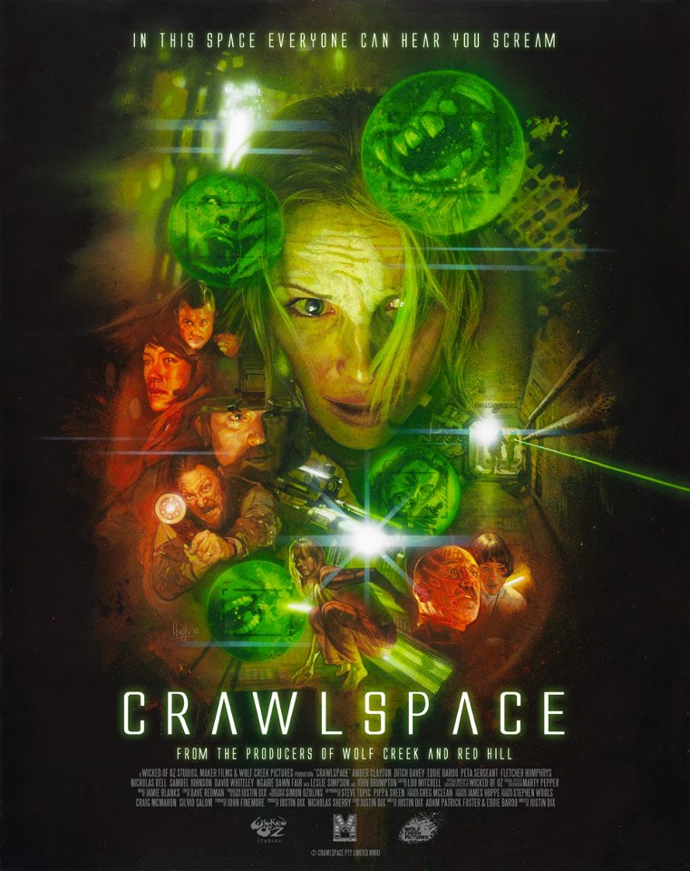 Crawlspace Poster - Interview - Peta Sergeant