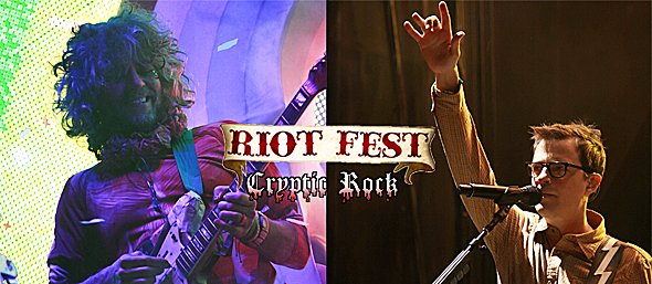 Riot Fest Erupts Opening Day 9-19-14 Denver, CO - Cryptic Rock
