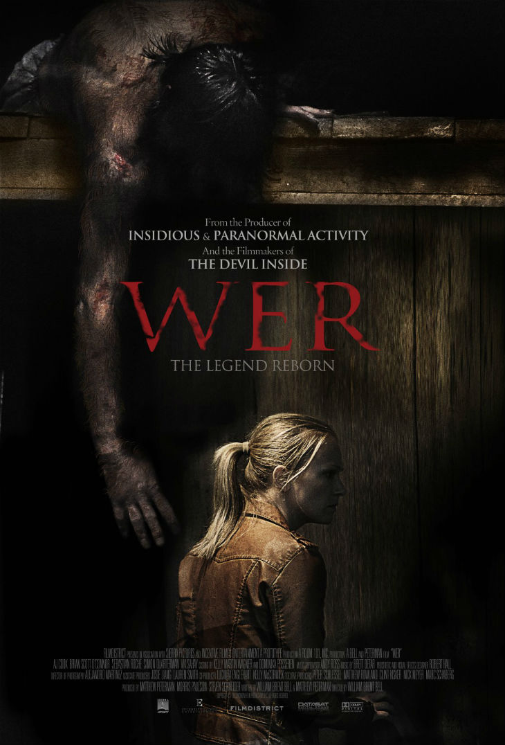 wer movie poster images - CrypticRock Presents: Top 10 Horror Films of 2014