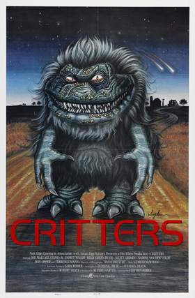critters 1 poster 03 - Interview - Dee Wallace