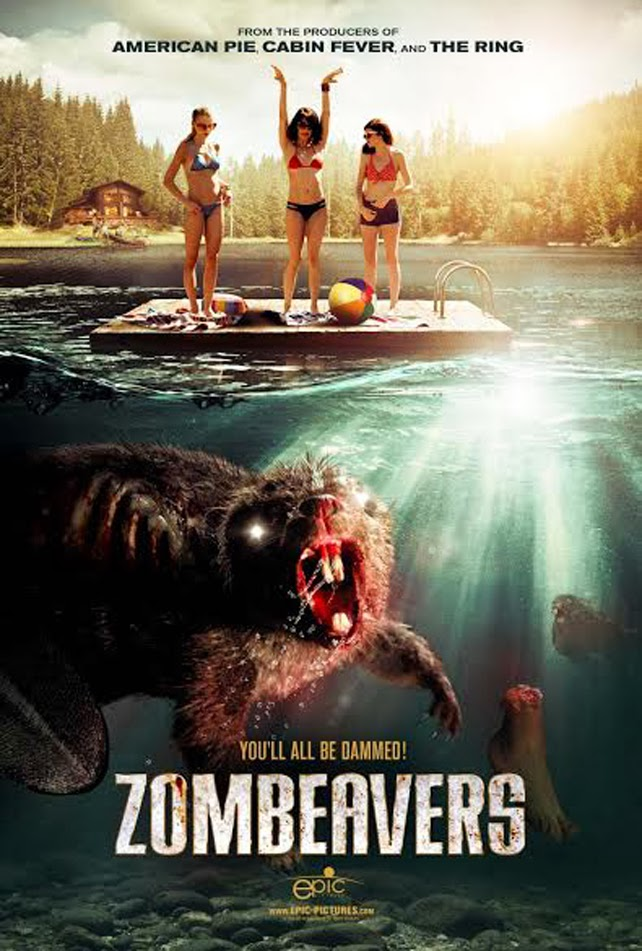 Zombeavers Poster - CrypticRock Presents: Top 10 Horror Films of 2015