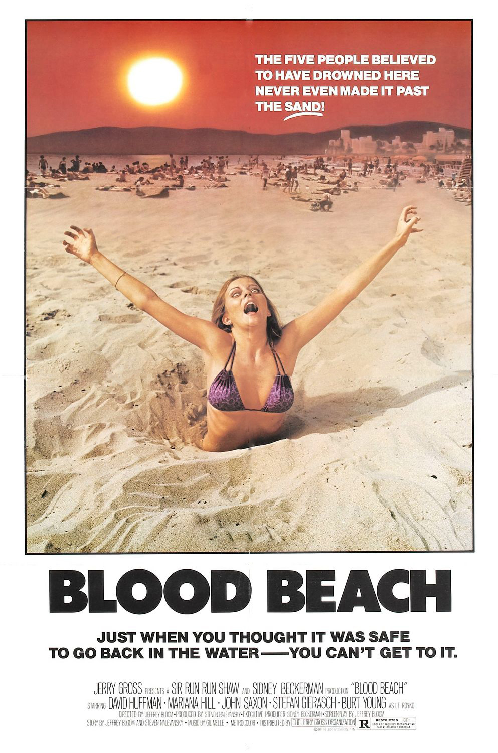 blood beach poster 2 edited 1 - Blood Beach - 35 Years Later And Still Cannot Get To The Water