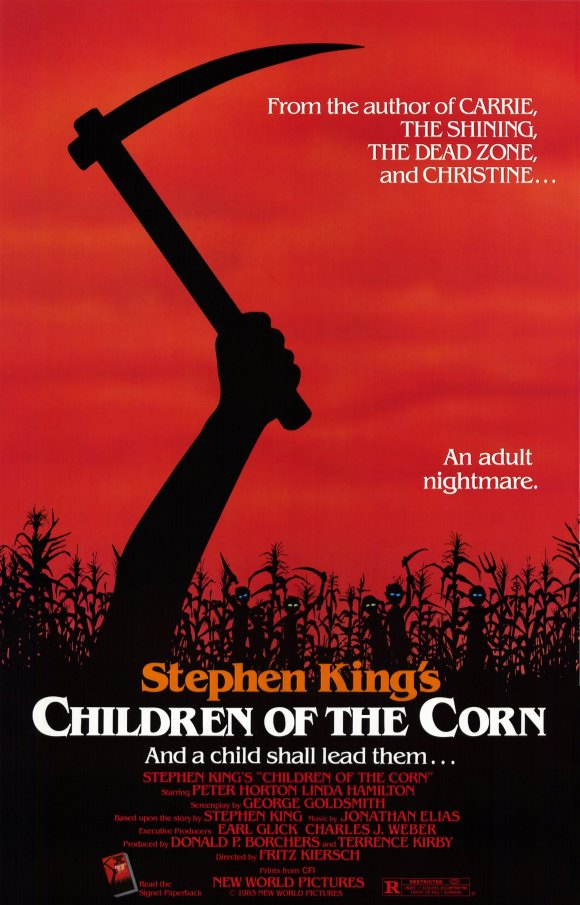 1984 children of the corn poster1 - Interview - Adam Gontier of Saint Asonia