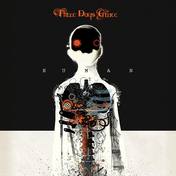 three days grace album cover - Three Days Grace - Human (Album Review)
