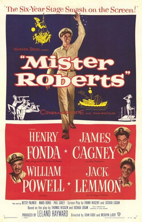 mister roberts poster tall - Remember Betsy Palmer: A True Renaissance Woman
