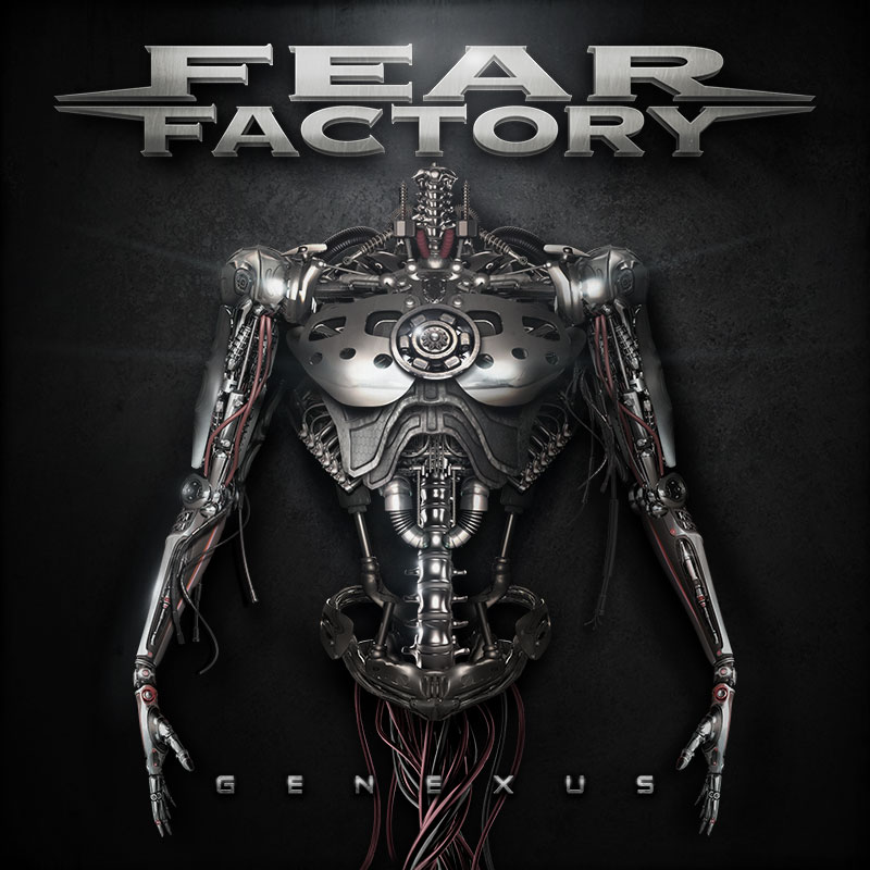 genexus album cover - Fear Factory - Genexus (Album Review)
