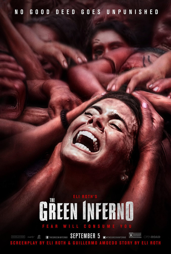 The Green Inferno Movie Poster - CrypticRock Presents: Top 10 Horror Films of 2015