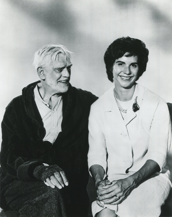 boris and sara karloff001 - Interview - Sara Karloff - Reflections on Boris Karloff