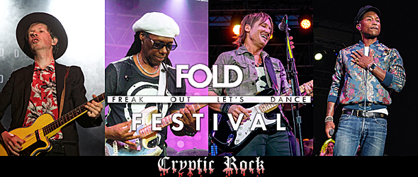 fold festival day one slide - FOLD Festival A Non-Stop Party Martha Clara Vineyards Riverhead, NY 8-4-15 w/ Chic, Beck, Keith Urban, & More