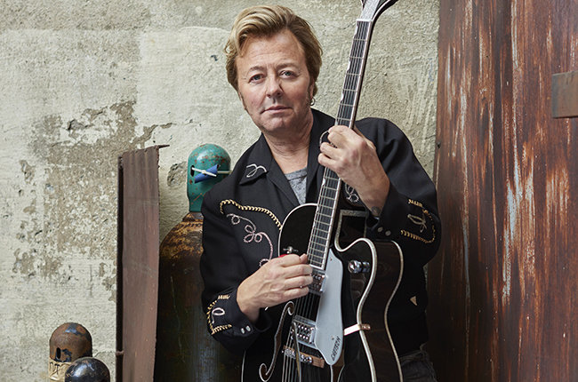 Brian Setzer press 2015 billboard 650 - The Brian Setzer Orchestra - Rockin' Rudolph (Album Review)