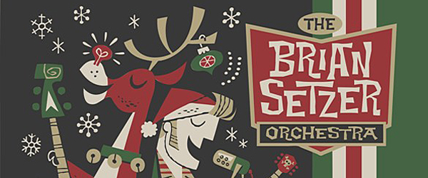 brian setzer orchestra rockin rudolph cover art1 - The Brian Setzer Orchestra - Rockin' Rudolph (Album Review)
