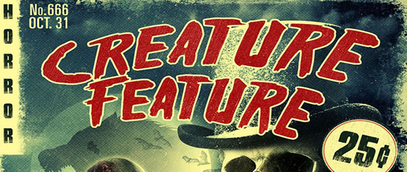 creature feature slide - Creature Feature (Movie Review)
