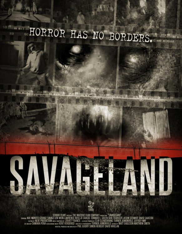 Savageland Phil Guidry Official Movie Poster - Savageland (Movie Review)