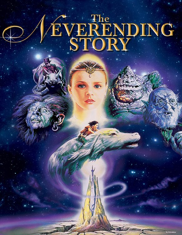 The Neverending Story movie poster - Interview - Tami Stronach
