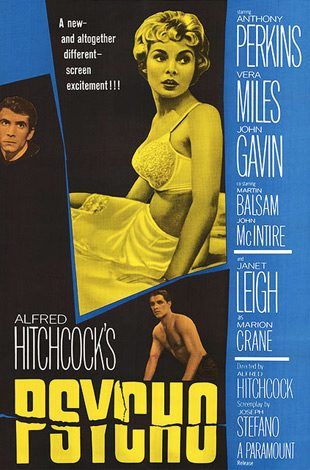 psycho theatrical release poster 1960 - Interview - Bobby Whitlock & CoCo Carmel