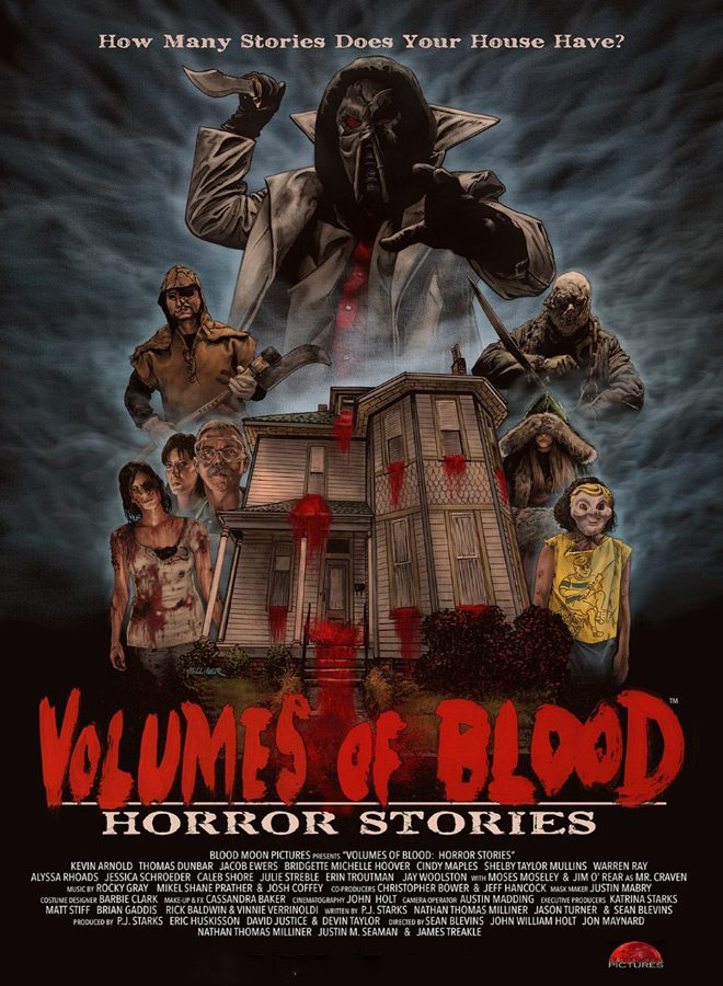 volumes poster - Volumes of Blood: Horror Stories (Movie Review)