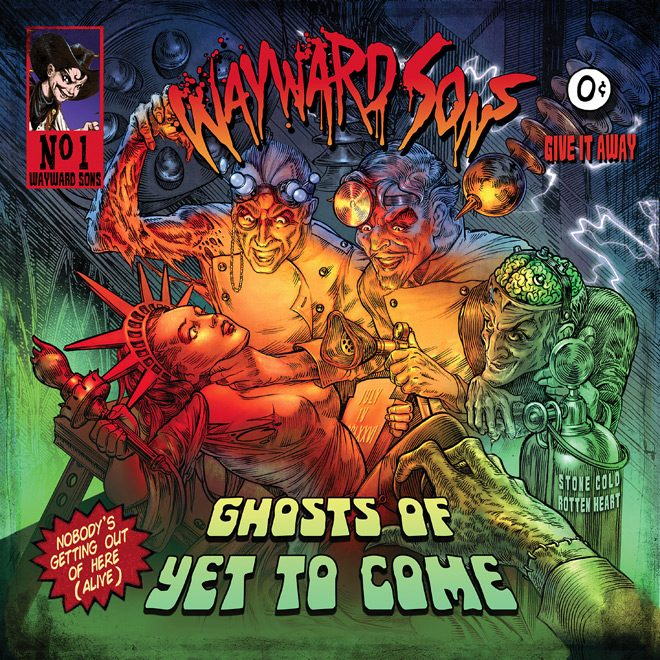 WAYWARD SONS - Wayward Sons - Ghosts of Yet to Come (Album Review)
