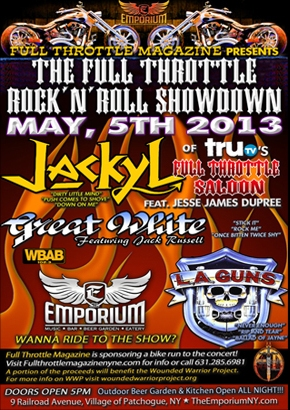 91 atxl - Win a pair of tickets to see JACKYL, GREAT WHITE & L.A. GUNS AT THE EMPORIUM MAY 5TH!