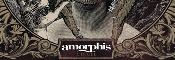 "Amorphis Circle album cover new lyric video - Amorphis release music video for ""Hopeless Days"""