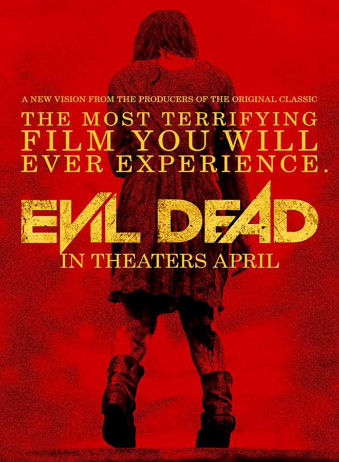Evil Dead 2013 Movie Poster - Evil Dead (Movie Review)