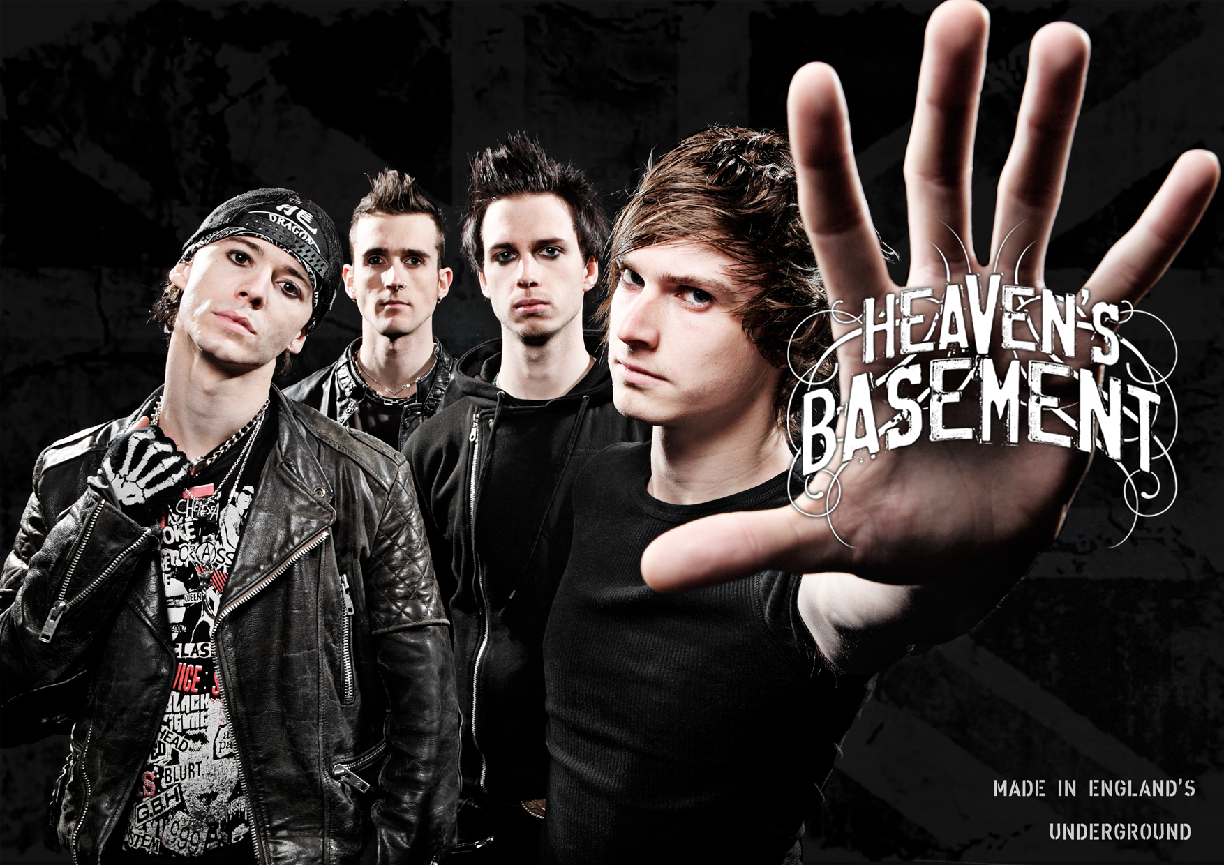 "Heavens Basement 2011 line up - Heaven's Basement release video for ""Fire,Fire"""