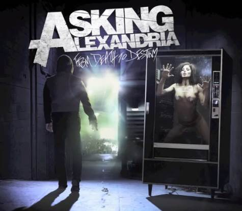 "askingalexdeath - Asking Alexandria reveal artwork and release date of new album ""From Death To Destiny"""