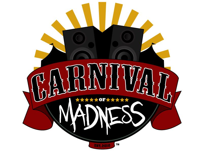 carnivalofmadnesslogo - Carnival Of Madness 2013 Tour Dates Unveiled