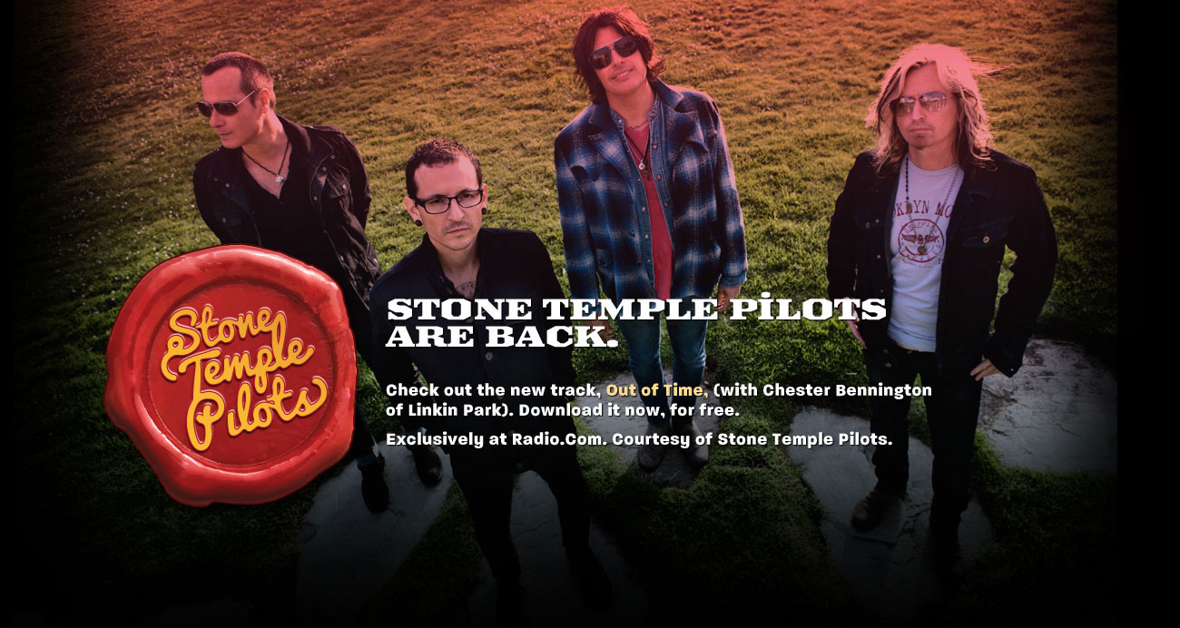 stp bg - Stone Temple Pilots are back with a new vocalist......
