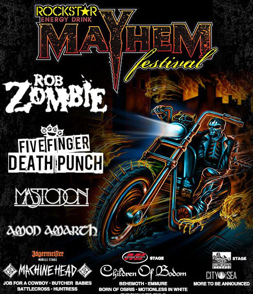 Rockstar Mayhem Fest Lineup 2013 - Interview: Butcher Babies ready to take on Mayhem Festival
