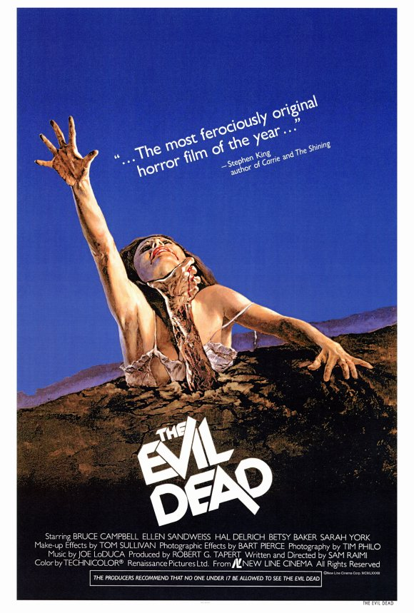 evil dead movie poster 01 - Interview - Jesse Hasek of 10 years