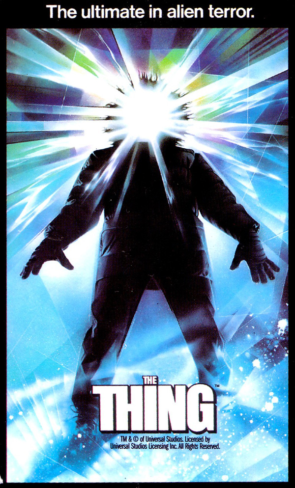 the thing 1982 poster - Interview - Chuck Billy of Testament