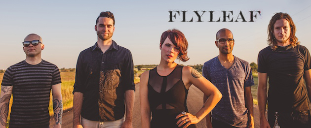 Flyleaf cover - Interview: Kristen May of Flyleaf