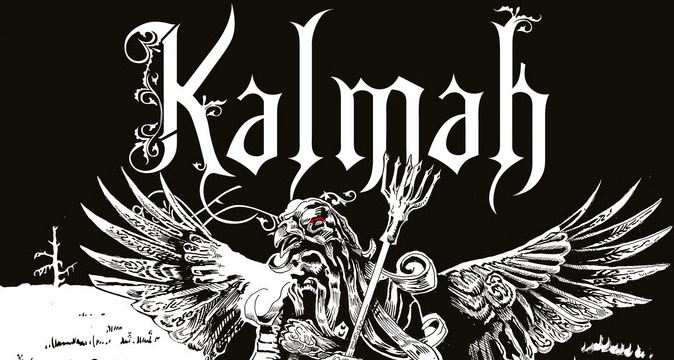 PromoImage cover - Kalmah -  Seventh Swamphony (Album review)