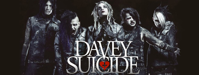 davey interview slide - Interview - Davey Suicide the next generation rock star