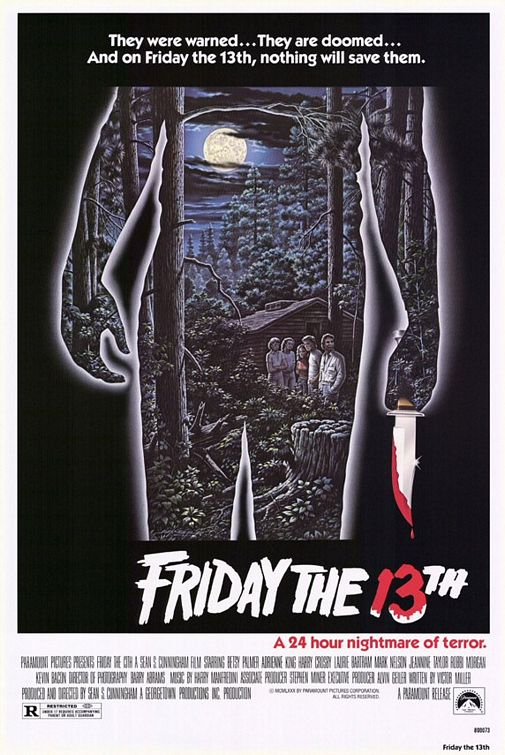 friday the 13th poster 1980 - Interview - Bobby Amaru of Saliva