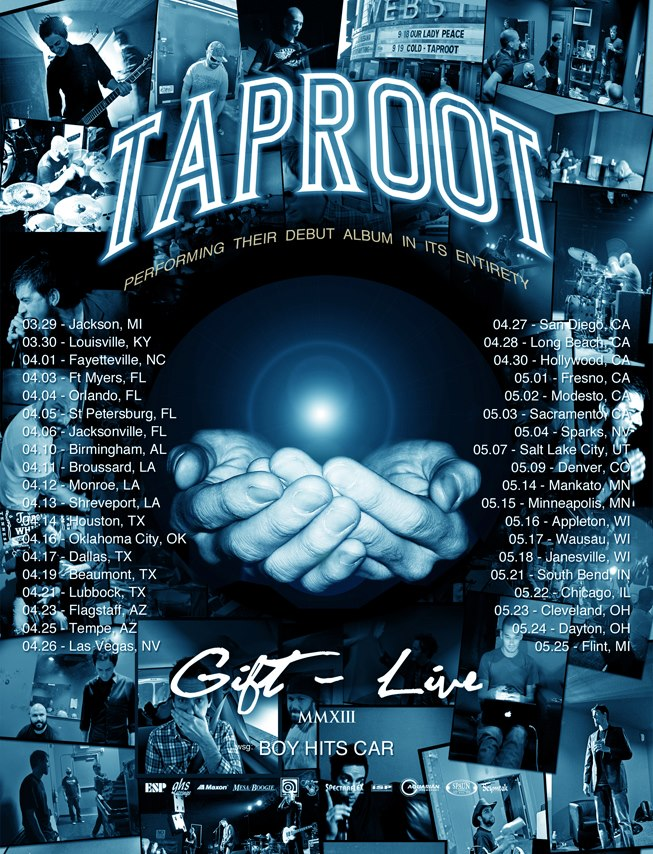 taproot tour poster - Interview: Mike DeWolf of Taproot