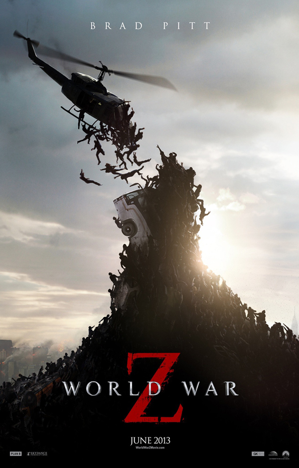 world war z poster031 - World War Z (Movie review)