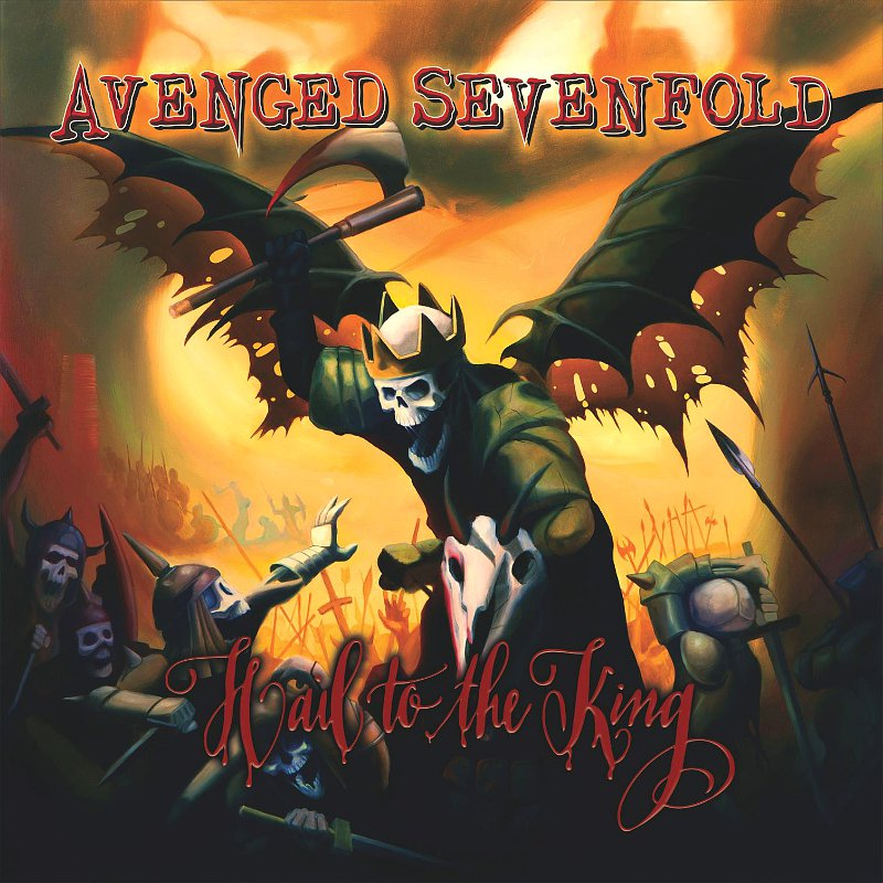"avenged sevenfold announces new album hail to the king - Avenged Sevenfold release video for ""Hail To The King"""