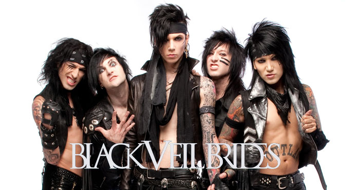 black veil brides cover - Interview- Andy Biersack of Black Veil Brides