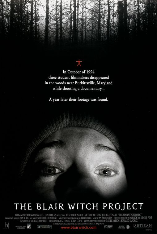 blair witch project ver3 - Favorite Horror Movies Revealed: Blake Allison of Devour the Day