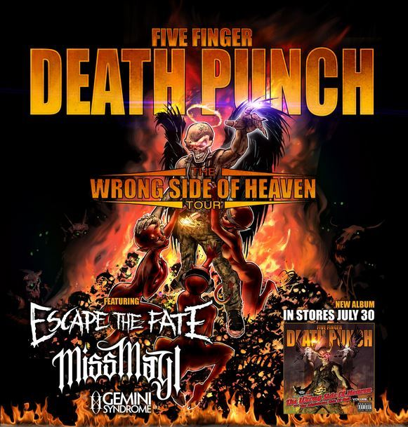 canada tour admatt 2013 - Five Finger Death Punch announce The Wrong Side Of Heaven Tour