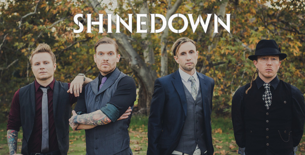 shinedown new cover 3 edited 1 - Shinedown auction off bass guitar for Childhood Cancer Awareness Month