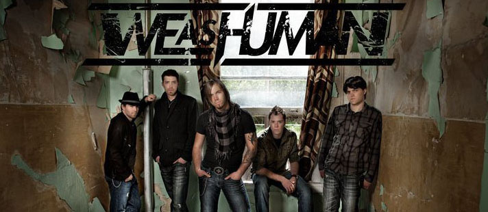 we as human cover edited 3 - Interview- Justin Cordle of We As Human - Their rise to rock stardom
