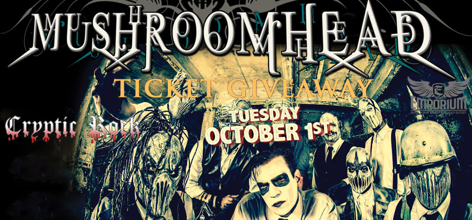 mushroomhead cover 7 - Mushroomhead live at The Emporium Patchogue NY Oct 1st ticket giveaway