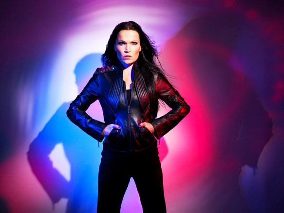 Colours in the dark promo 3 - Interview - Tarja Turunen