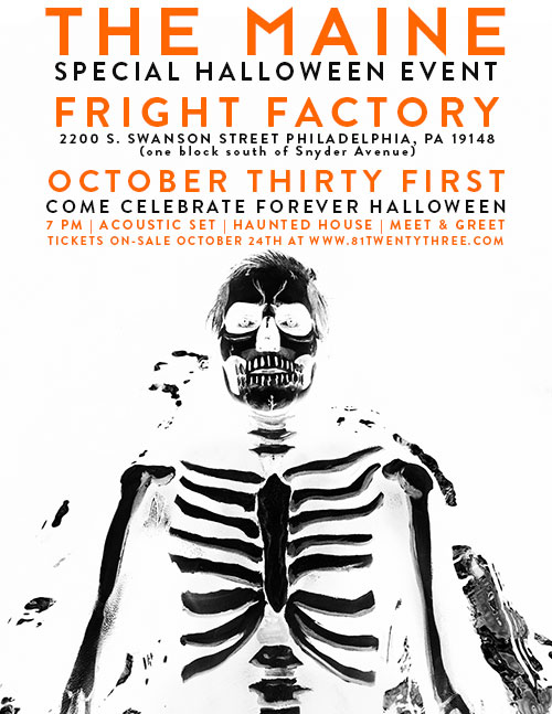 HALLOWEEN EVENT - Interview - Pat Kirch of The Maine