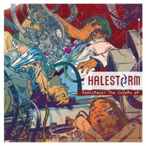 Halestorm Reanimate The Covers EP 300x300 - Interview - Joe Hottinger of Halestorm
