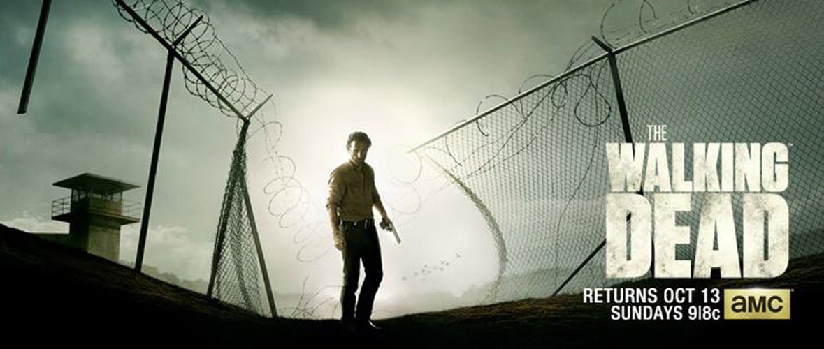 THe Walking Dead Season 4 Banner edited 2 - Walking Dead returns on AMC with premiere of season 4 (review)