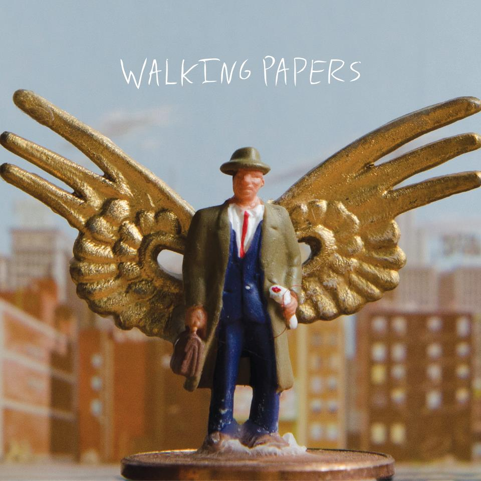 Walking Papers album cover - Interview - Jeff Angell of Walking Papers